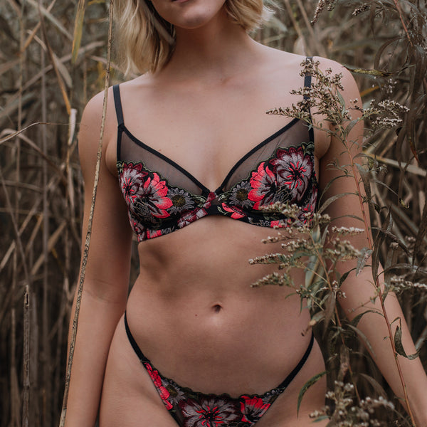 Lush Plunge Bra - Monique Morin
