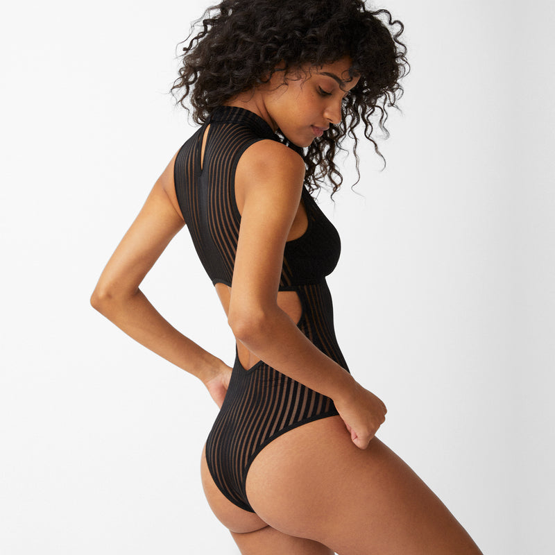 Vertigo Bodysuit - Monique Morin