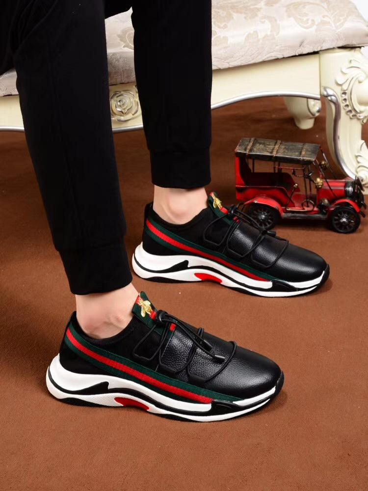 46d67ee6c06 Gucci small bee sports shoes men s casual tide shoes 2018 ...