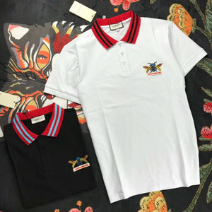 187e190b Gucci chest embroidery bee beads cotton fabric T-shirt