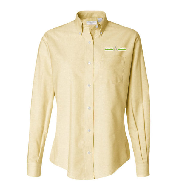 Ladies' Long Sleeve Oxford