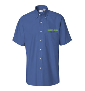 Men's Short Sleeve Oxford