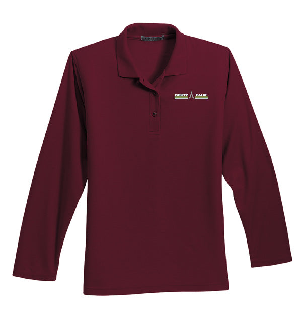 Ladies' Long Sleeve Polo