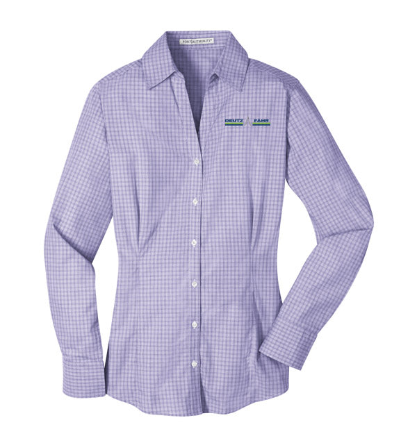 Ladies' Plaid Pattern Shirt
