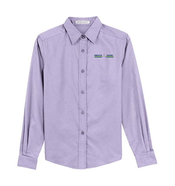 Ladies' Long Sleeve Oxford Shirt