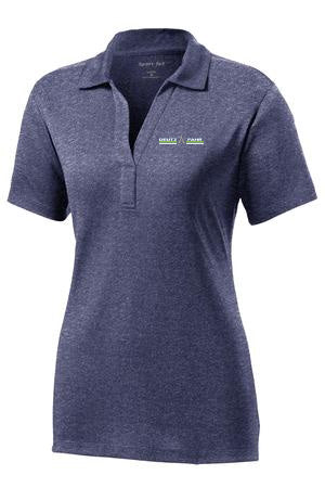 Sport Tek Ladies Heather Contender Polo