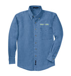 Men's TALL Long Sleeve Denim Shirt