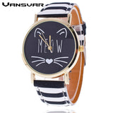 Lovely Meow Cat Watch