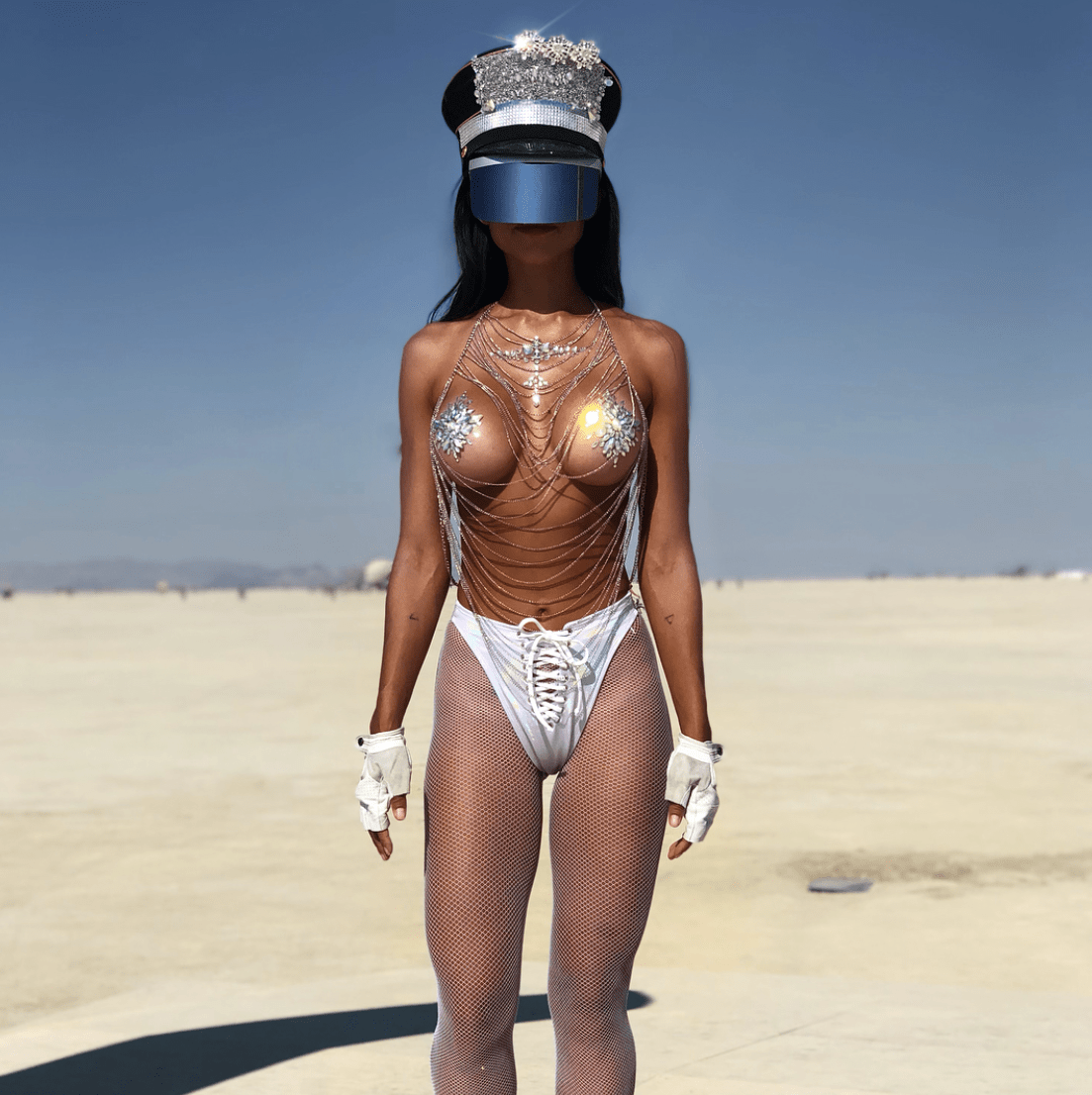 Futuristic AF Outfit Ideas: Get an OUTTA THIS WORLD Shine with Neva Nude Newness