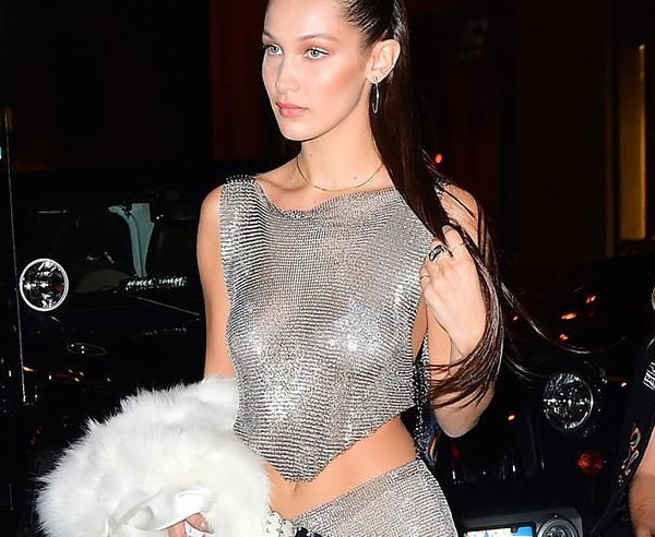 Bella Hadid Wearing Neva Nude Nipple Pasties