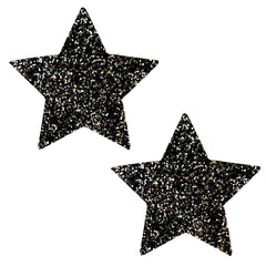 Super Sparkle Black Tinsel Town Chunky Glitter Starry Nights Pasties