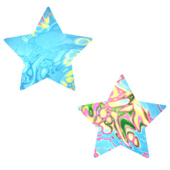 Tropical Skittles Blacklight Starry Nights Pasties