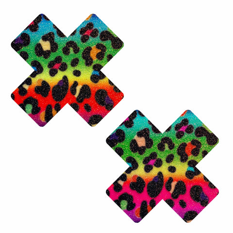 Animal Madness Multicolor Glitter X Nipztix