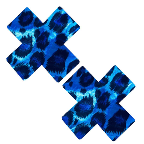 Cheeky Cheetah Blue Velvet Crush X Factor Nipztix