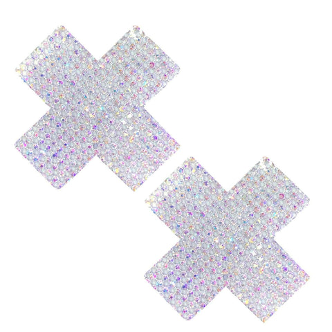 Super Bling Crystal Iridescent Jewel X Nipztix Pasties