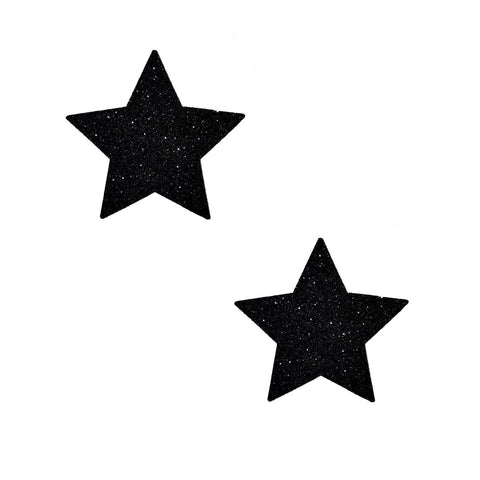small black star nipple pasties, Neva Nude