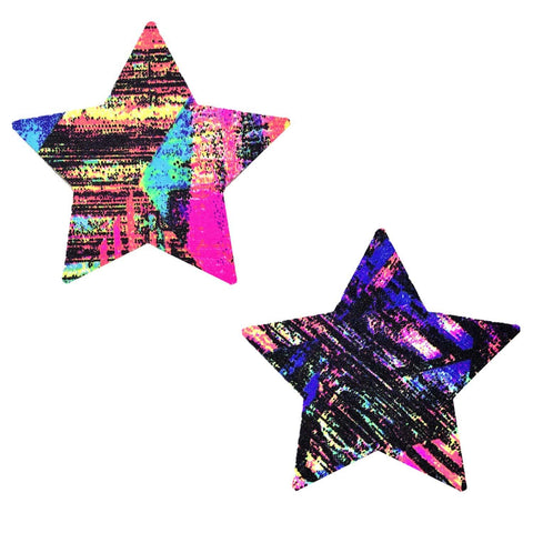 California Love Starry Nights Pasties, Star Pasties - NevaNude