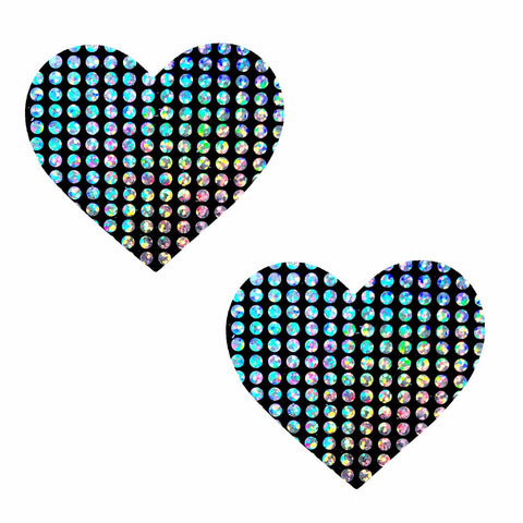 Disco Holographic nipple pasties, Neva Nude