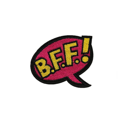 BFF bubble iron on patch, FabStix