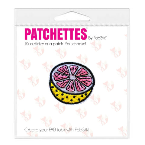 Grapefruit patch Sticker, FabStix