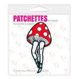 mushroom leg iron on patch sticker, FabStix