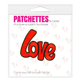 Love patch sticker, FabStix