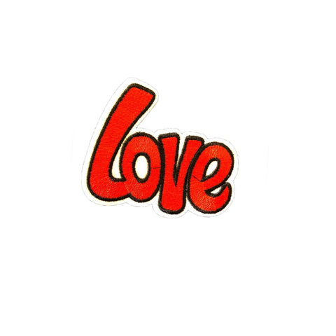 Love Iron On Patch Sticker, FabStix