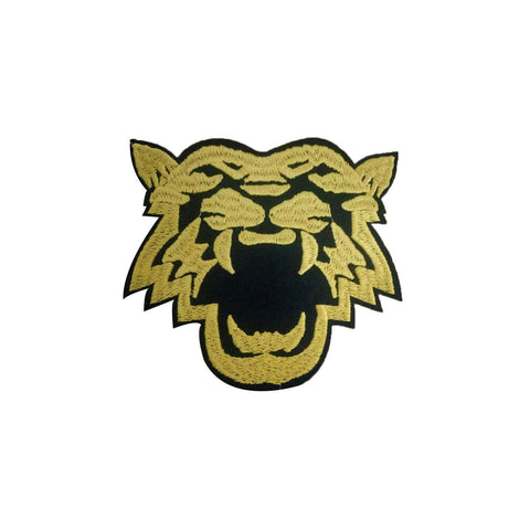 Tiger roar patch sticker, FabStix