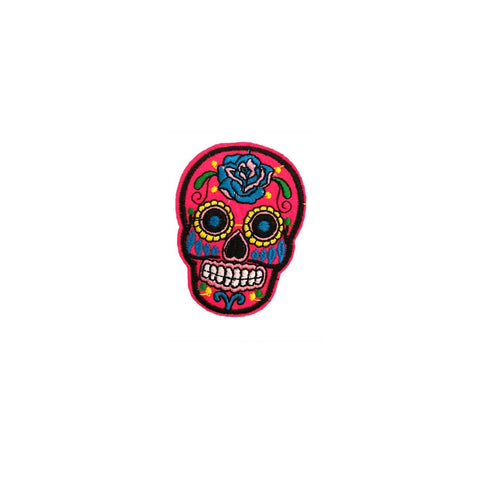 Neon UV Skull Patch Sticker, FabStix