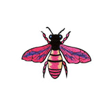 wasp iron on patch sticker, FabStix