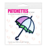 Umbrella patch and sticker, FabStix