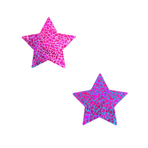 Eragon UV Holographic Starry Nights BodiStix 6PK, Star BodiStix - NevaNude