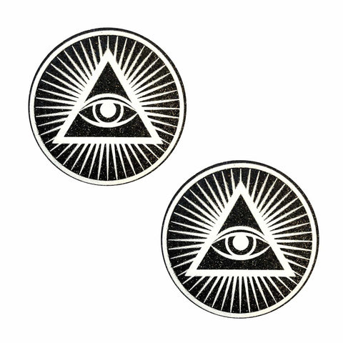 Third Eye Black Glitter Pasties