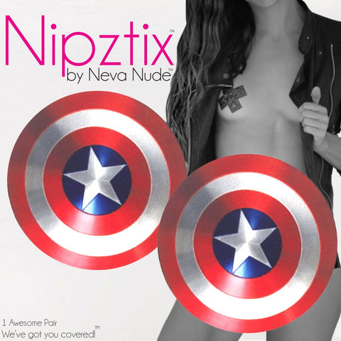 Freaking Awesome Shield Nipztix Pasties