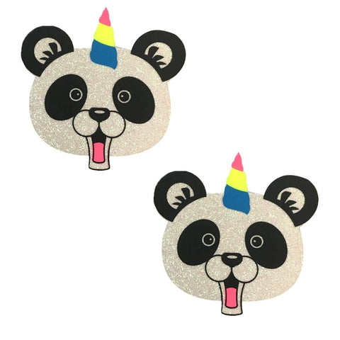 Panda Unicorn Nipple Pasties, Neva Nude