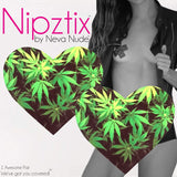 Freaking Awesome Weed Nipztix Pasties