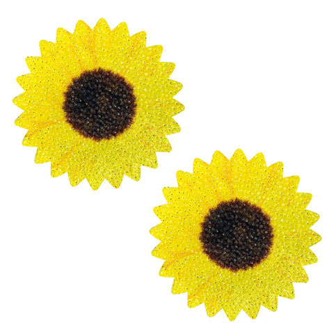 EDC sunflower nipple cover pasties, Neva Nude