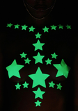 Glow In The Dark Starry Nights Sticker Top