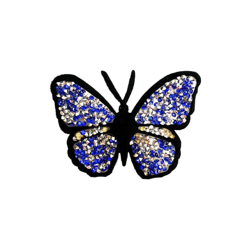 Jewel butterfly patch sticker, FabStix