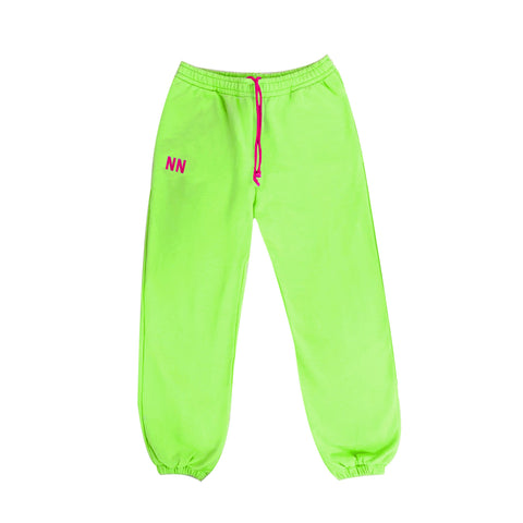 Green Neon Jogger Naughties Sweat Pants