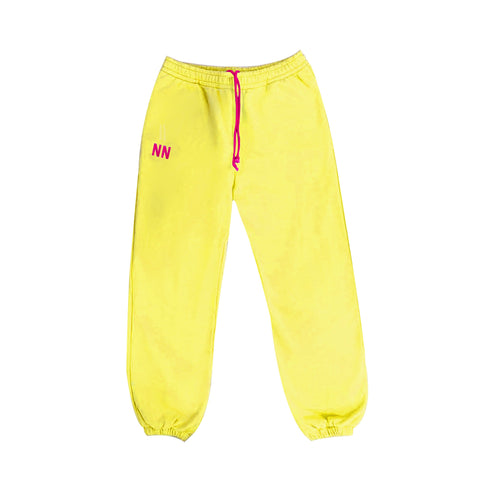 Yellow Neon Jogger Naughties Sweat Pants