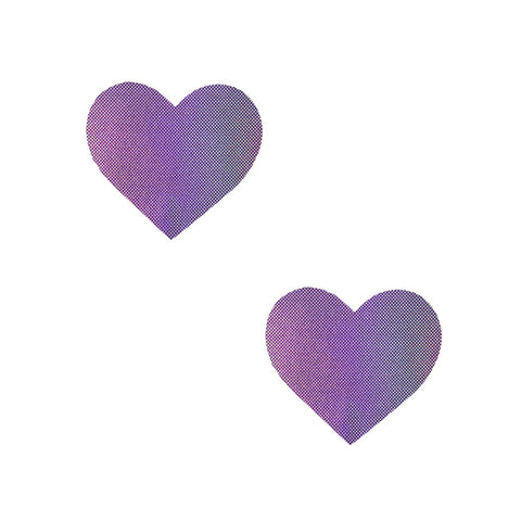 Mini purple body holographic sticker, Neva Nude