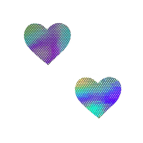 Liquid Party Holographic I Heart U BodiStix 6PK, Heart BodiStix - NevaNude