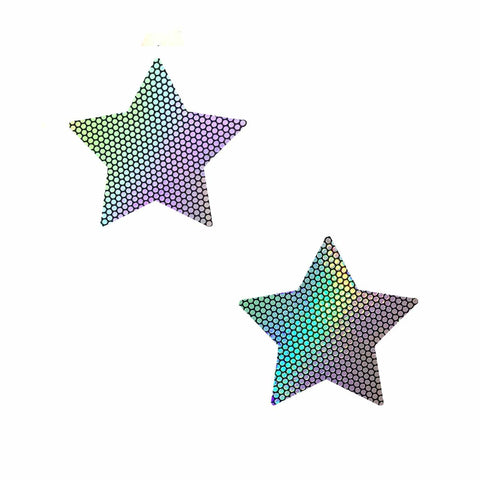 Liquid Party Holographic Starry Nights BodiStix 6PK, Star BodiStix - NevaNude