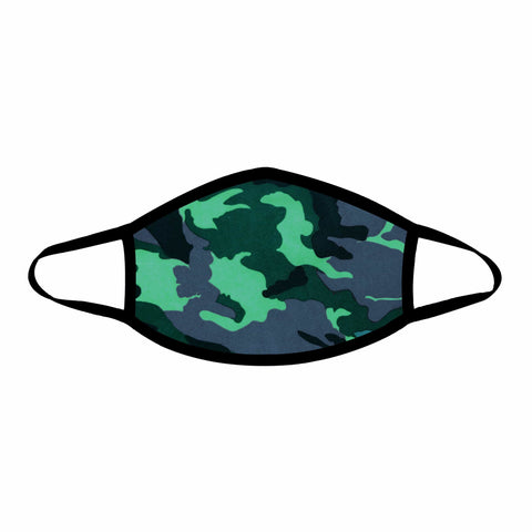 Extraction Green Camo Face Mask