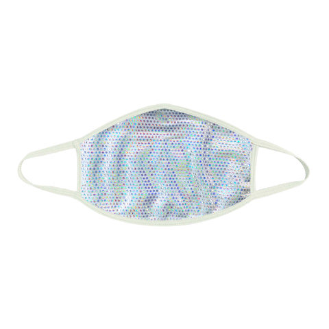 Liquid Party Pure White Holographic Face Mask
