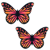 Large Velvet Ombre Butterfly Kisses Nipztix