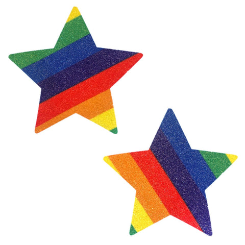 Orlando Pride Glitter Starry Nights Nipztix Pasties