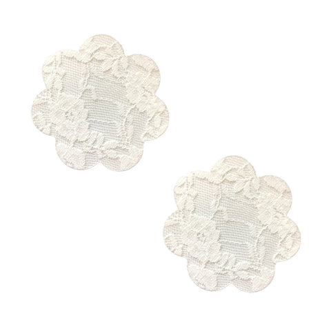 white petal lace nipple cover, Neva Nude