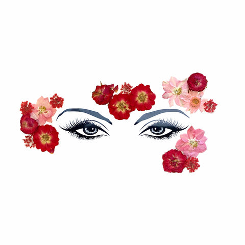 Harvest Moondancer Real Dried Pressed Flower FaceStix